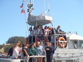 GOGA Junior Lifeguards Make a Splash with US Coast Guard