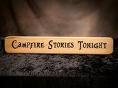 3rd -5th graders will enjoy campfire stories in Pod C!