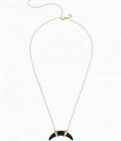 Arc Pendant Necklace - $30