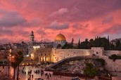 Jerusalem in the Sunset