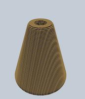 lamp in 123D Make