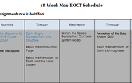 Use your course schedule/syllabus to determine which content to view and study.