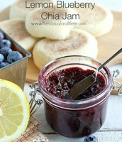 Lemon Blueberry Chia Jam