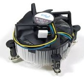 The CPU Fan.