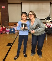 Suki won a new Fire HD for Perfect Attendance!