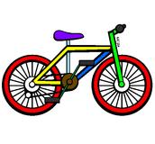 La primera vez que montè la bicicleta