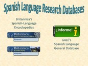 Spanish Language Databases