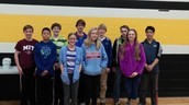 7th and 8th grade Math Meet team