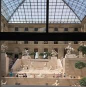 Inside the Louvre - Paris, France
