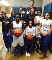 JV Girls Basketball Team, January 2016