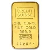 Credit Suisse Gold Bar 1oz