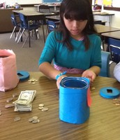 Busy counting money