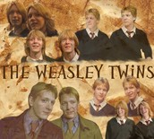 The Weasley Twins from Harry Potter