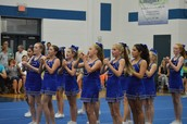 7th Grade Cheerleaders
