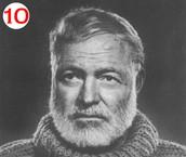 Hemingway terminó de escribir dos de sus novelas más famosas en un restaurante de la capital
