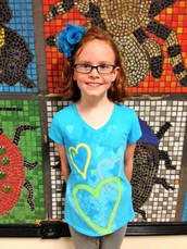 "Brentwood's September Value of the Month Winner ~ Abby Cox, 4th Grade ~ August ""Truth / Respect for Laws & Rules"""
