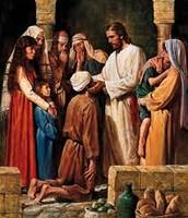 Healing the Blind Man since Birth