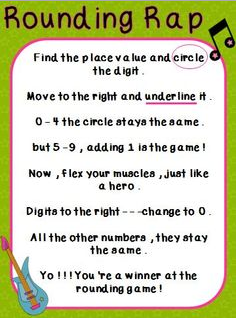 Elementary Studies: Rounding of numbers to the nearest 10 and 100