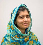 What does Malala do to support womens' rights?