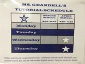 Ms. Grandell's Tutorials
