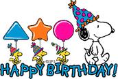 Staff Birthdays!