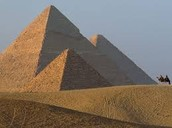 Why were the Pyramids built in the triangle shape?
