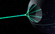 Building a real deathstar in space
