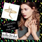 Lightening Ring - Gold