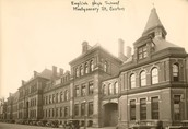 Boston English High School when first opened.