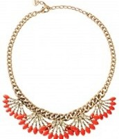 Coral cay necklace $52