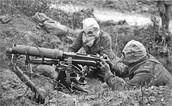 Machine Guns in WWI