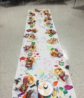 Our Thanksgiving Feast!