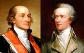 George Washington and Alexander Hamilton
