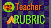 Orange Slice Teacher Rubric