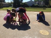 Related Arts Celebration:  Sidewalk Chalk and Sunshine!