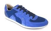 zapatos tenis azul