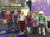 100 year old kids on the 100th Day of School!
