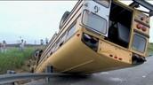 The bus crash.