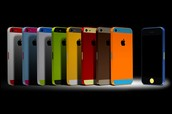 multi colored phones!