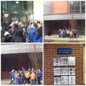 7th Graders visiting Suffolk Community College!