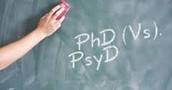 3. Earn a PHD or PsyD