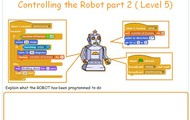 Controlling the robot Level 5