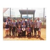 My softball team