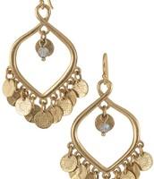 Rio Chandelier Earrings - Gold