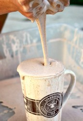 Fall Recipe for Play - Pumpkin Spice Latte Oobleck