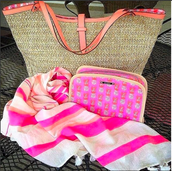 The Riviera Tote is Chic on the Beach and about town.