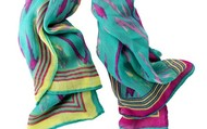 Palm Springs Ikat Scarf