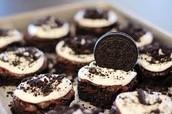 the amazing Oreo brownie