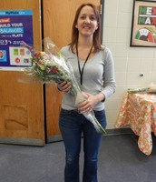High School Teacher of the Year, Jackie Wiley