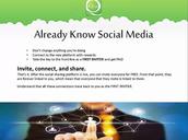 Invite, Connect, Share